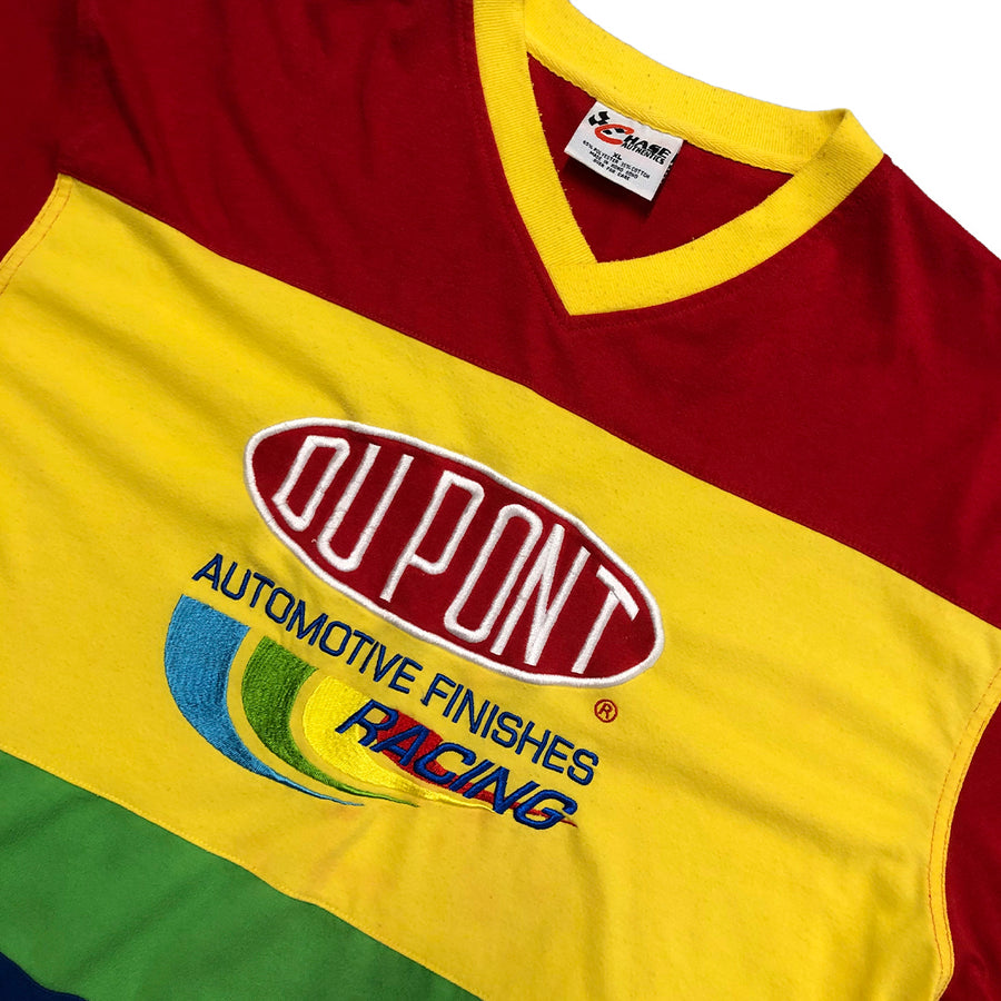 Vintage Racing Du Point Automotive Finishes Jersey Tee XL