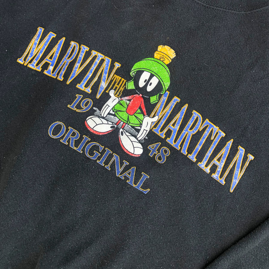 Vintage Looney Tunes Marvin The Martian Crewneck Sweater M/L