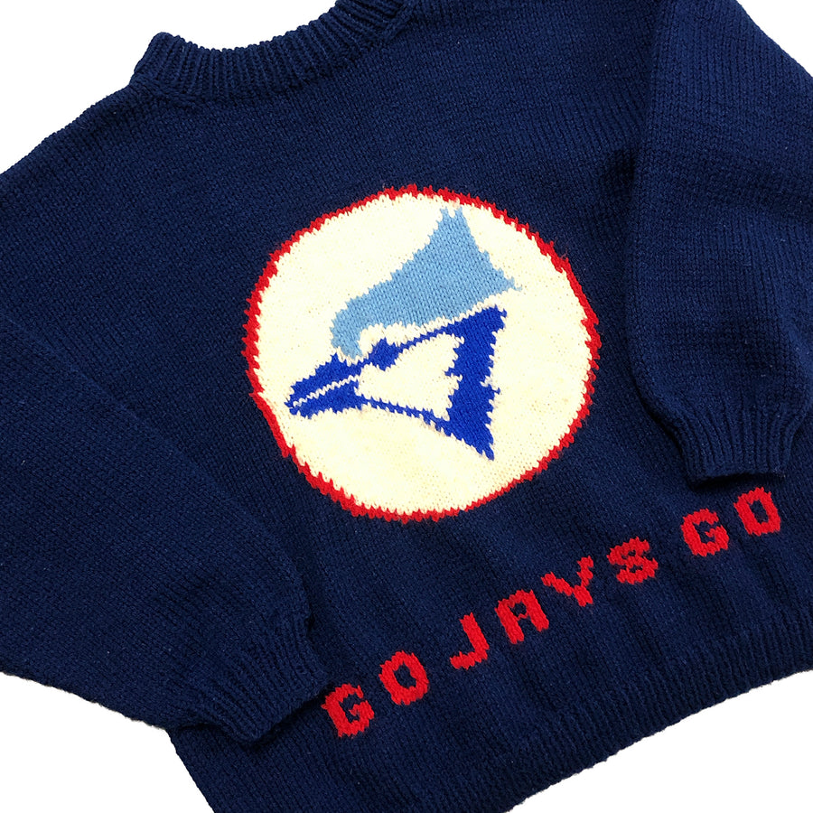Vintage MLB Toronto Blue Jays Knit Sweater XXL