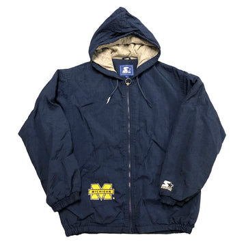Vintage Starter Michigan Wolverines Jacket M/L