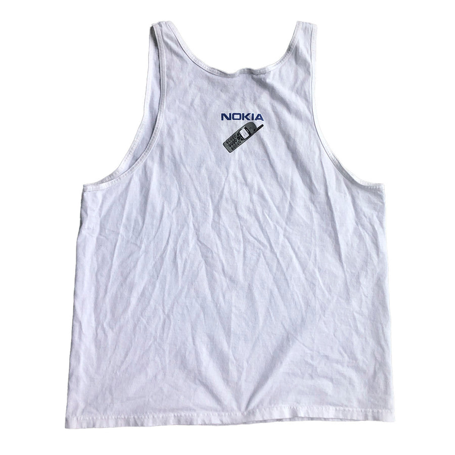 Early 2000s Nokia Tank Top XL