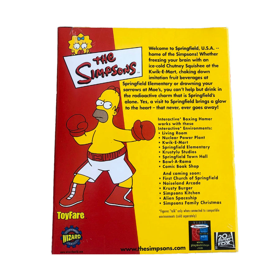 The Simpsons Boxing Homer Playmates Action Figure