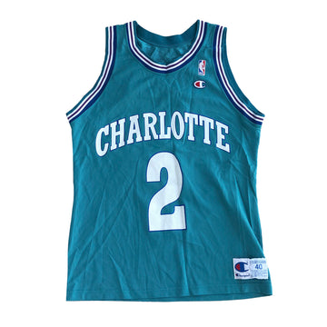 Vintage NBA Champion Charlotte Hornets Jersey M