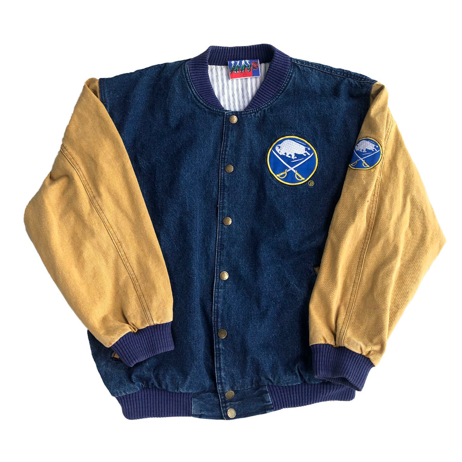Vintage NHL Buffalo Sabres Denim Jacket XL