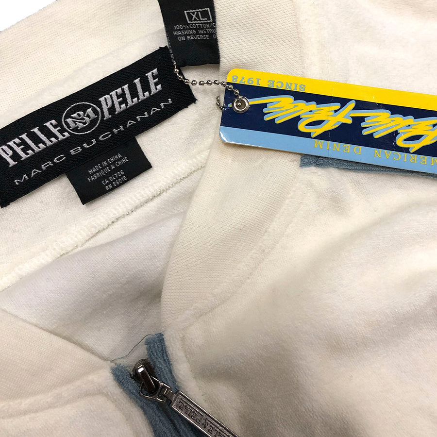 Vintage Velour Pelle Pelle Matching Sweat Suit NWT XL
