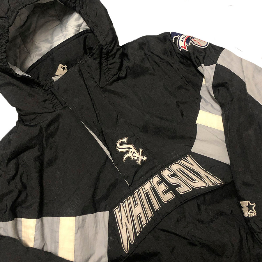 Vintage Starter MLB Chicago White Sox Pullover Jacket S