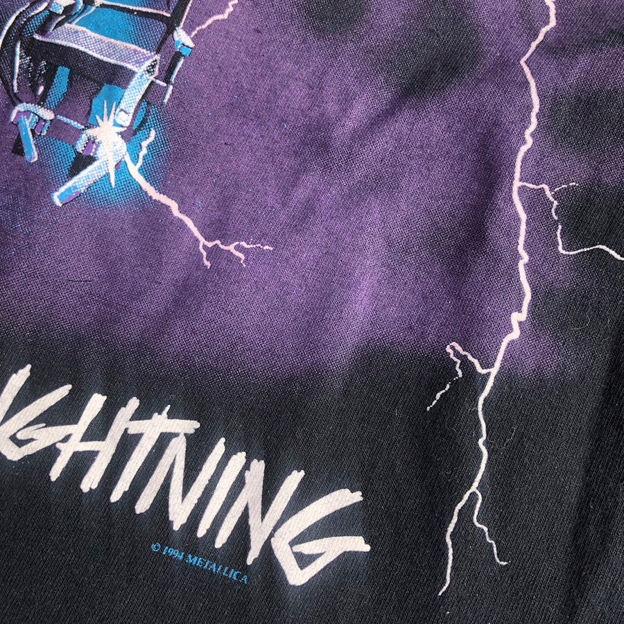 1994 Metallica Ride The Lightning Tee S