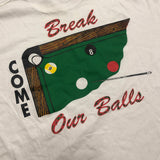 Vintage Pool 8 Ball Tee XL