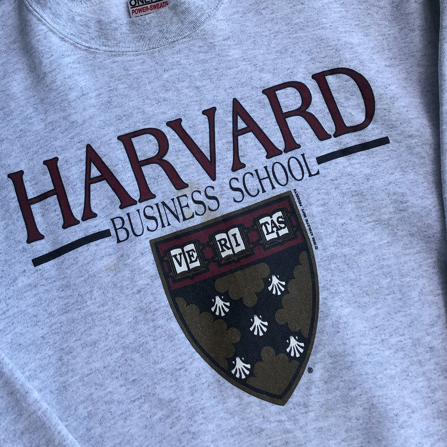 Vintage 1993 Harvard University Crewneck Sweater L/XL