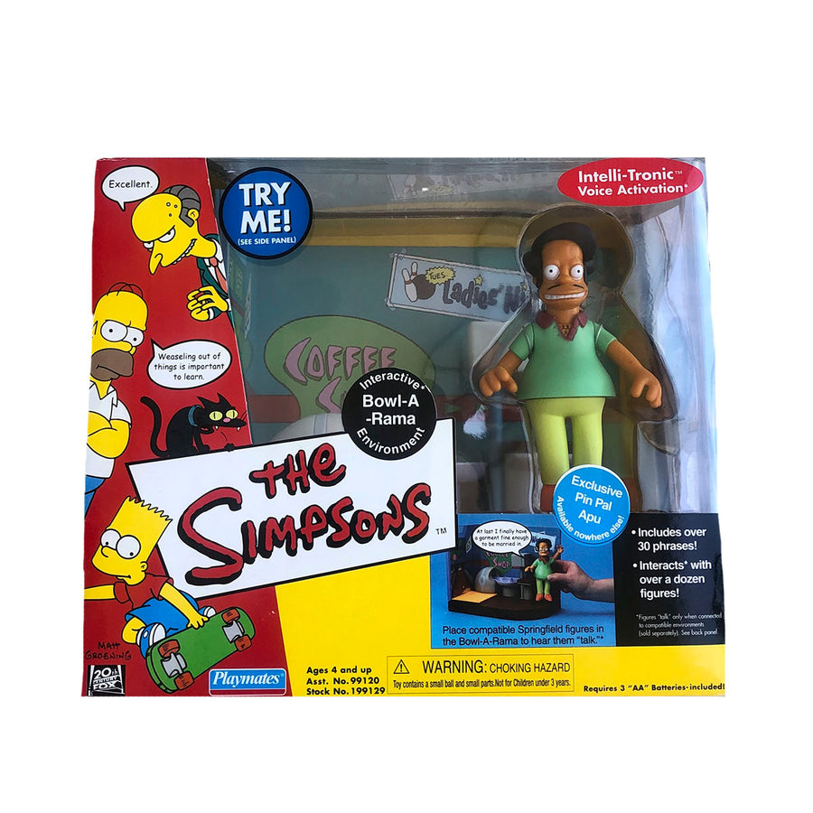 The Simpsons Bowl-A-Rama Playmates Action Figure