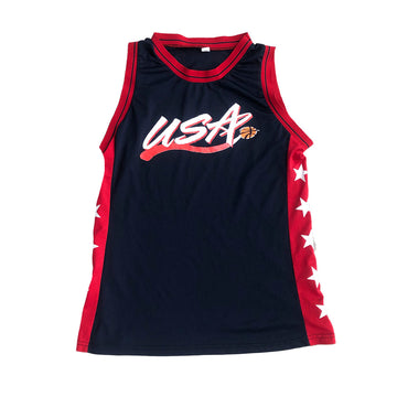 Vintage NBA Team USA Basketball Jersey M/L