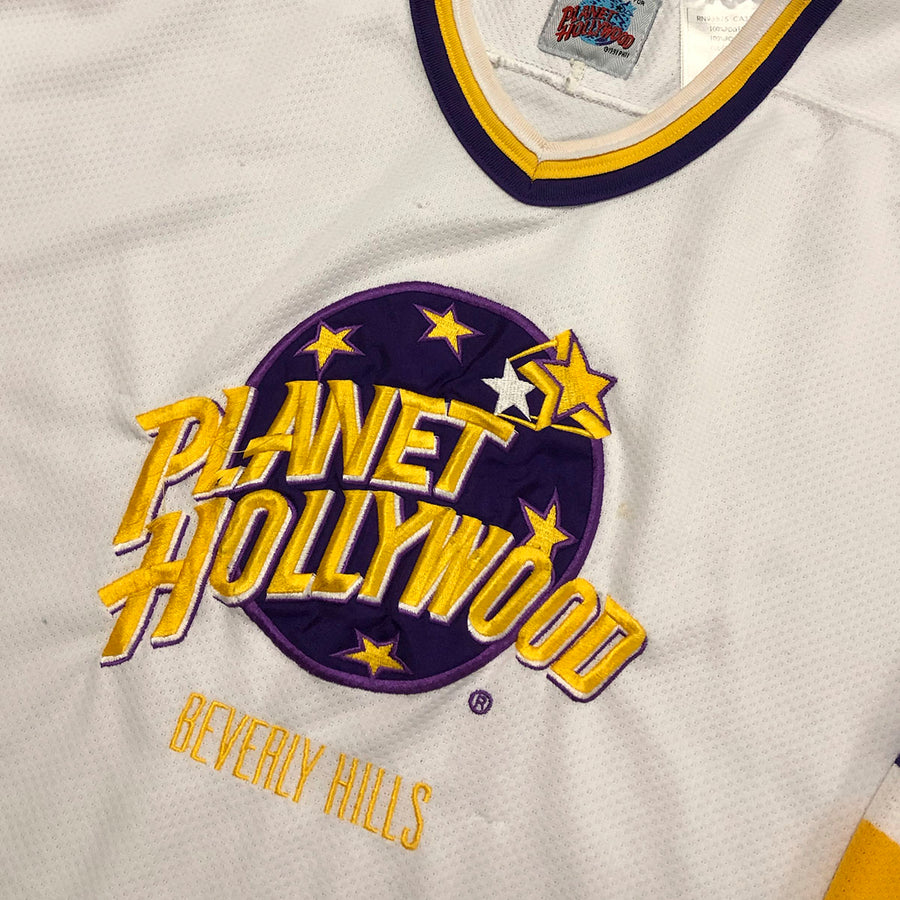 Vintage Planet Hollywood Beverly Hills Jersey L