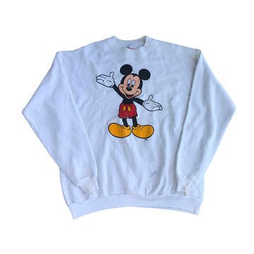 Vintage Disney Mickey Mouse Crewneck Sweater L/XL