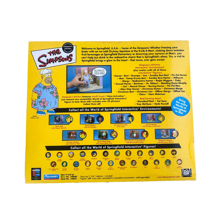 The Simpsons Kitchen Playmates Action Figure