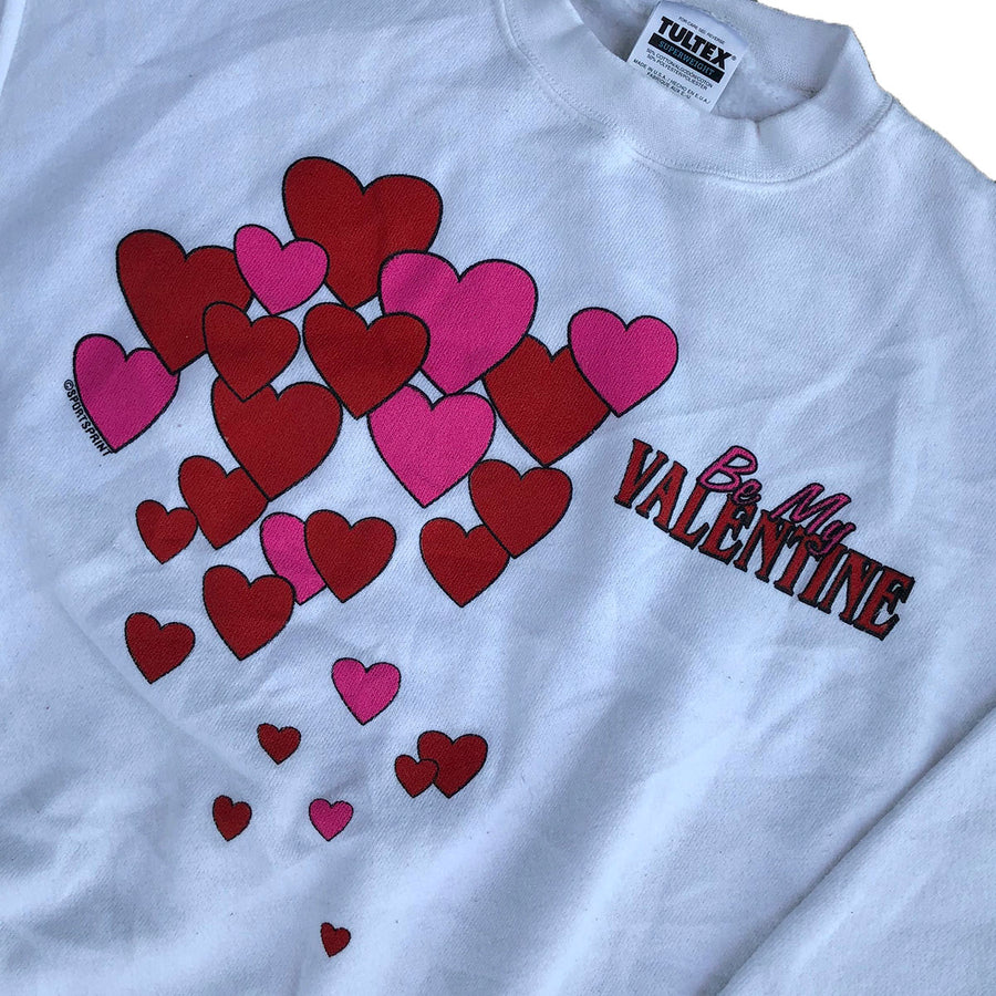 Vintage 'Be My Valentine' Crewneck Sweater XL