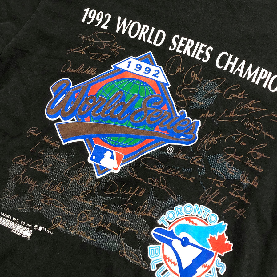 Vintage 1992 MLB World Series Toronto Blue Jays Tee L