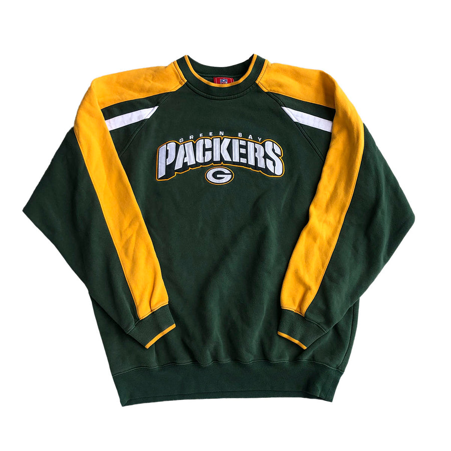 Vintage NFL Greenbay Packers Crewneck Sweater L