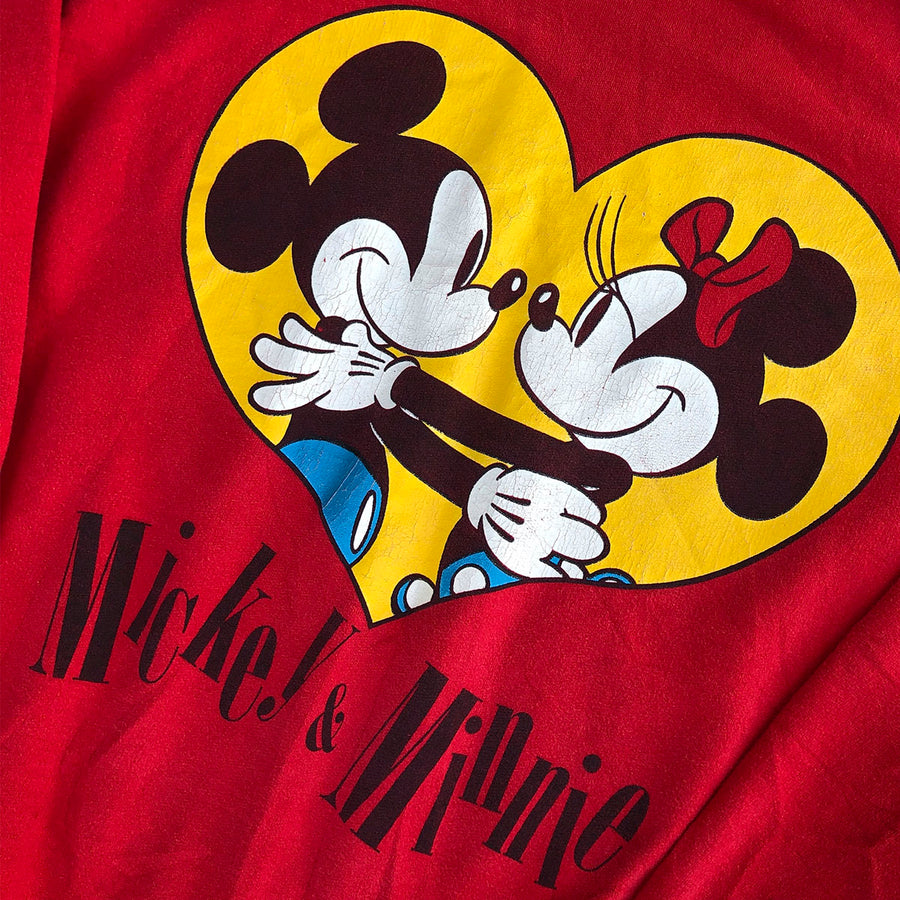 Vintage Mickey & Minnie Mouse Crewneck Sweater XL
