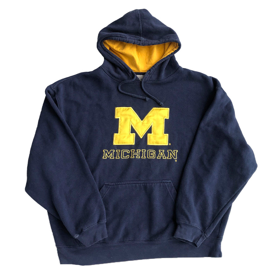 Vintage Michigan Wolverines Pullover Hoodie XL