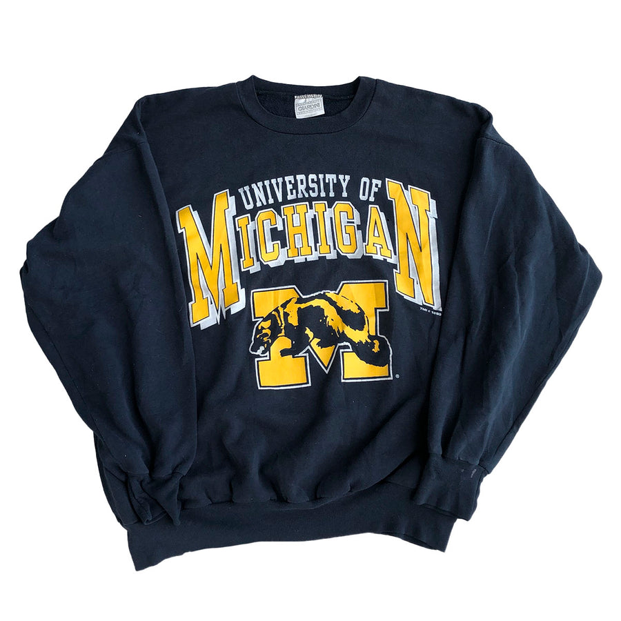Vintage 1993 University of Michigan Crewneck Sweater L
