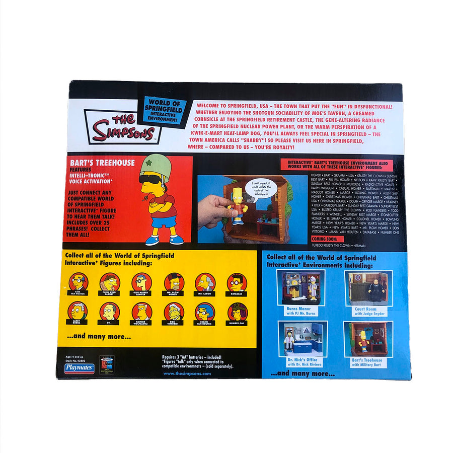 The Simpsons Bart Treehouse Playmates Action Figure