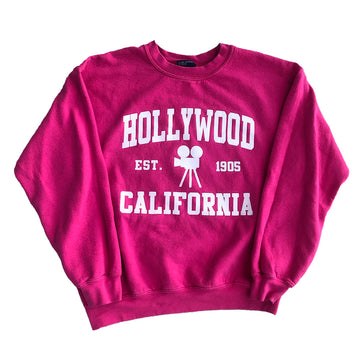 Vintage Womens California Hollywood Crewneck Sweater M