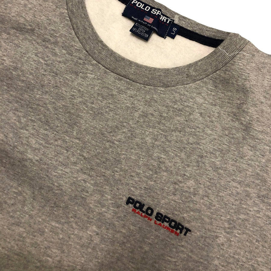 Vintage Polo Sport Crewneck Sweater L