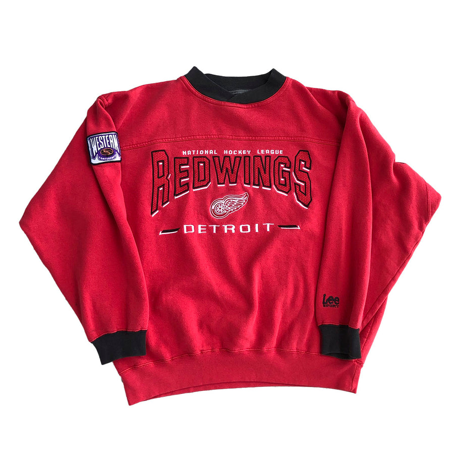 Vintage NHL Detroit Redwings Crewneck Sweater M