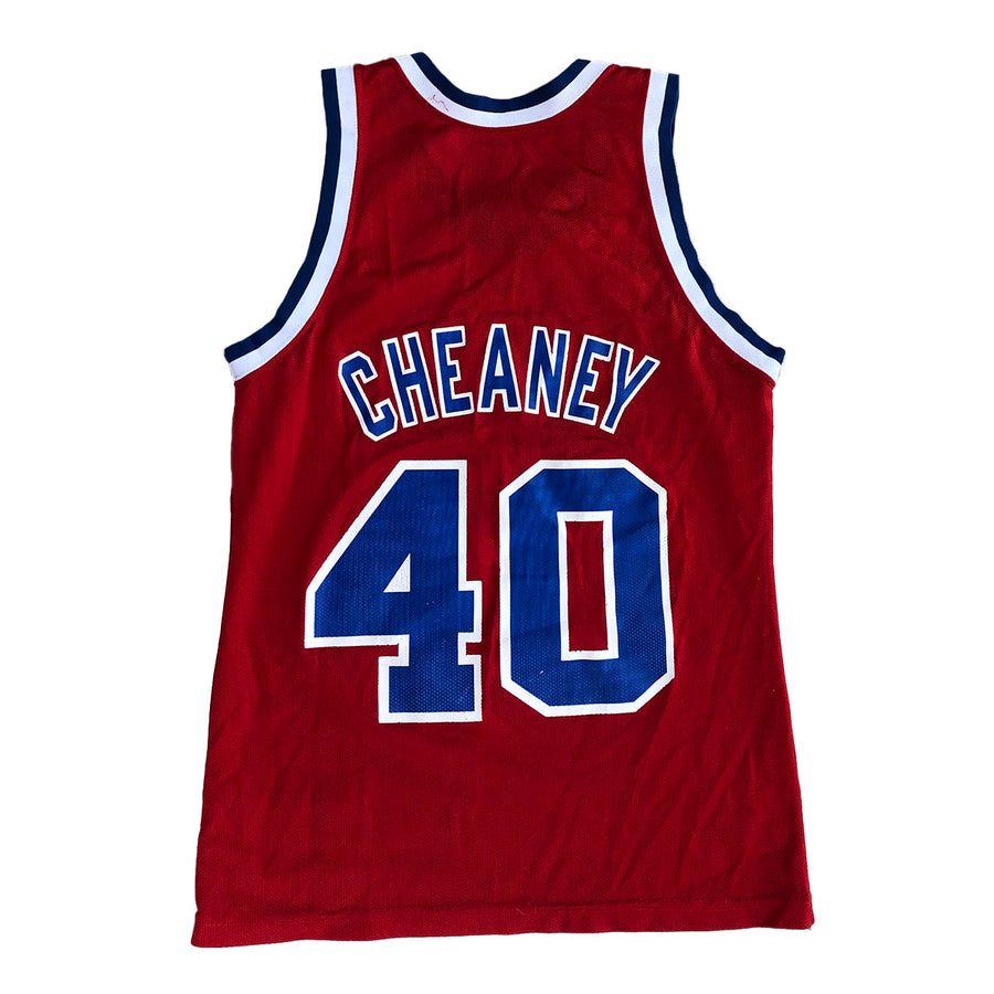 Vintage NBA Calbert Cheaney Washington Bullets Jersey S