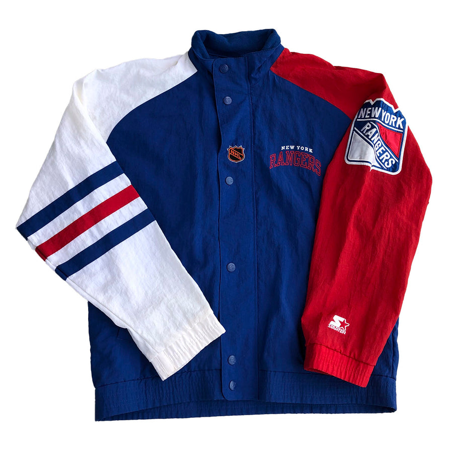 Vintage Starter NHL New York Rangers Jacket L