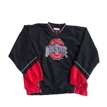 Ohio State Buckeyes Pullover Jacket L