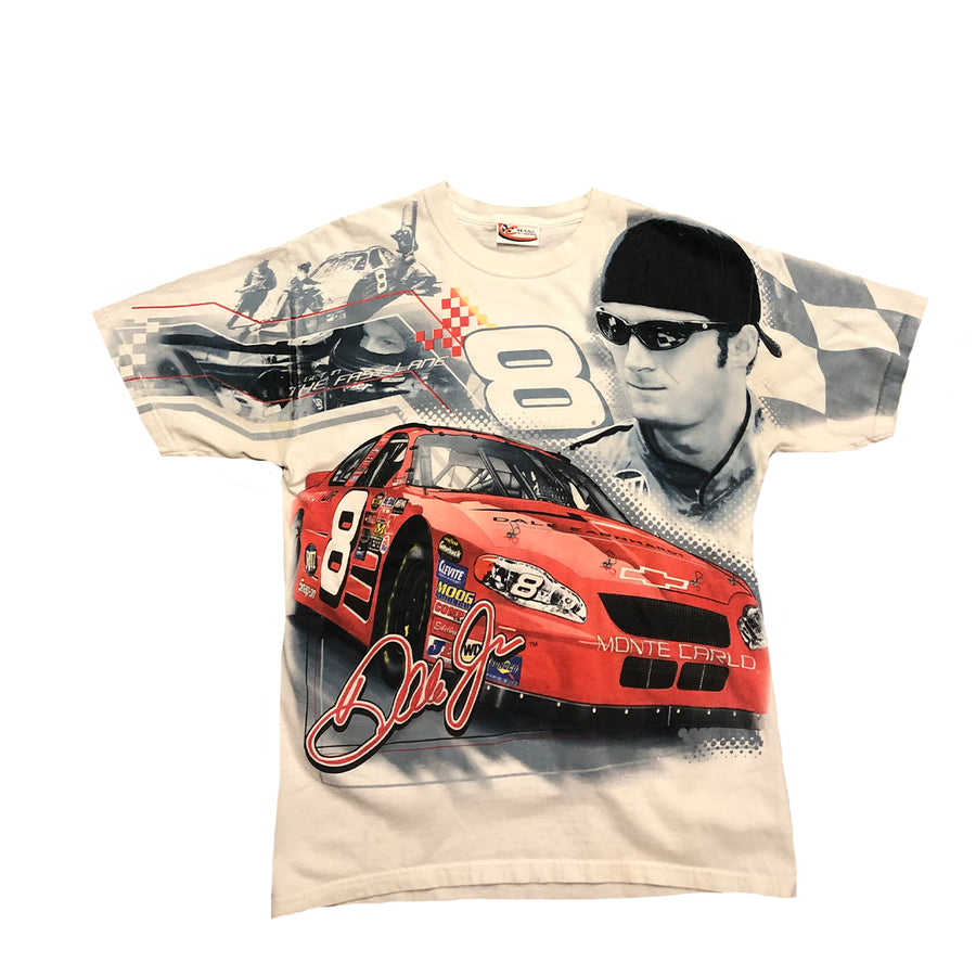 Dale Jr Nascar Racing All Over Print Tee M