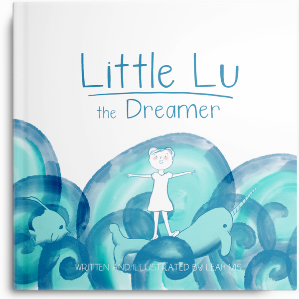 Little Lu the Dreamer - 8.5 x 8.5 paperback book