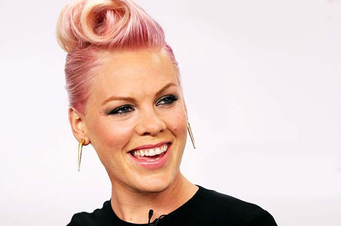 Popstar Pink says no to plastic surgery