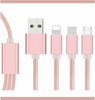 Pink Pure 3in1 Phone Cable