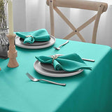 Cloth Napkins - Set of 12 Pieces Solid Polyester Table Napkins - Soft Washable and Reusable