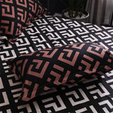 Modern Geometric Duvet Cover Bedding Set