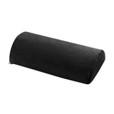 Half Moon Bolster Semi Roll Pillow Ankle and Knee Support Elevation Back Lumbar Neck Pain Relief Premium Quality Memory Foam