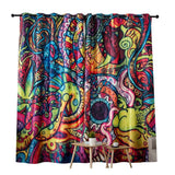 "Dark Color Curtain Size - W 80"" x H 100"""