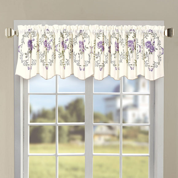 Classic Embroidery Valance, 60