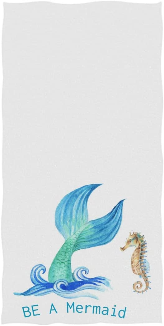 Soft Highly Absorbent Large Decorative Hand Towel Multipurpose for Bathroom Hotel Gym and Spa (16 x 30 Inches) Naanle