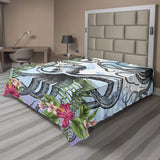 Nature Flat Sheet Soft Comfortable Top Sheet Decorative Bedding 1 Piece