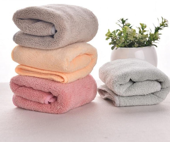 2 pcs set Microfiber Towel  Size 12