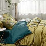 Egyptian Cotton Silky Duvet Cover Set