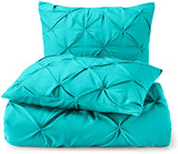 3 pcs Bedding Down Alternative Comforter - Quilted Comforter - Queen Size Comforter - Hypoallergenic - All Season Quilted Duvet Insert