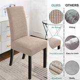 Dining Chair Covers Stretch Chair Covers Parsons Chair Slipcover Chair Covers for Dining Room Set of 2