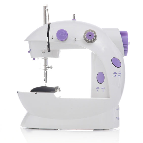 Mini Portable Handheld Sewing Machine Stitch Sew Needlework Cordless Clothes Fabrics