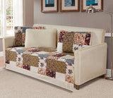Day Bed Cover Modern Reversible 5 PC