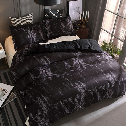 LOVINSUNSHINE Duvet Cover King Size Comforter Bedding Sets Queen Marble Bedding Set