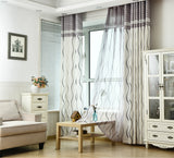 Classic Black / White Stripe Protection Curtain